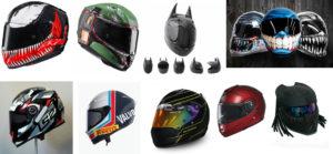 Awesome Motorcycle Helmet Designs