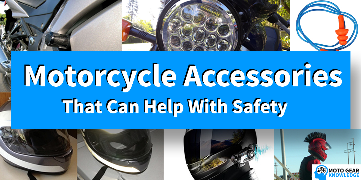 Motorcycle Accessories That Help With Safety