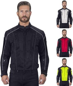 Men's Viking Cycle Mens Mesh Motorcycle Jacket