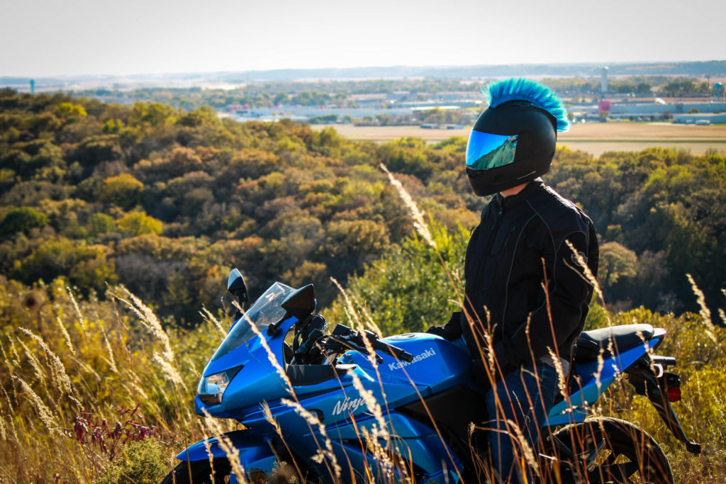 Motorcycle Gear Styling - Accenting Your Motorcycle