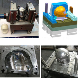 Plastic Injection Mold For Motorcycle Helmet