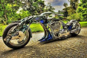 Insane Custom Motorcycle