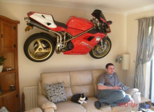 Cool Motorcycle Decor Picture