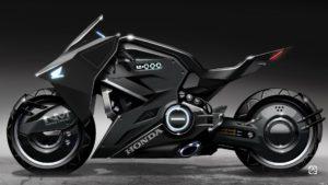 Futuristic Honda Motorcycle Concept