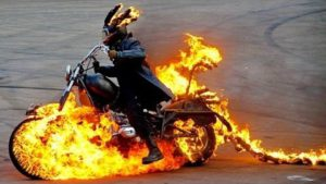 Insane Motorcycle Stunt Show