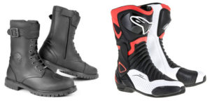 Leather Motorcycle Boot and Sport Motorcycle Boot