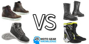 Motorcycle Boots vs Shoes