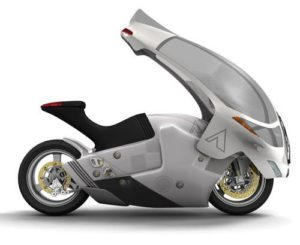 Future Motorcycle Safety Concept