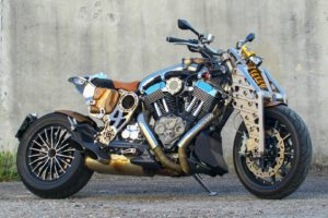 Redshift Custom Motorcycle Picture