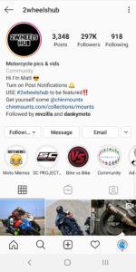Best Motorcycle Instagrams - 2wheelshub