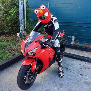 Motorcycle Helmet Cover Add On
