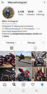 Best Motorcycle Instagrams - @bikersofinstagram