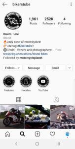 Best Motorcycle Instagrams - @bikerstube