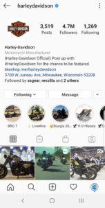 Best Motorcycle Instagrams - @harleydavidson
