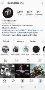 Best Motorcycle Instagrams - @iconmotosports