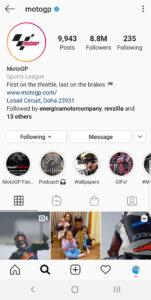 Best Motorcycle Instagrams - @motogp