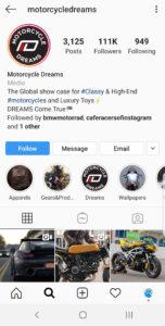 Best Motorcycle Instagrams - @motorcycledreams