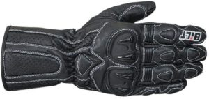 Bilt Max Speed Leather Motorcycle Gloves