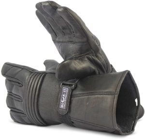 Blok-IT Leather Motorcycle Gloves