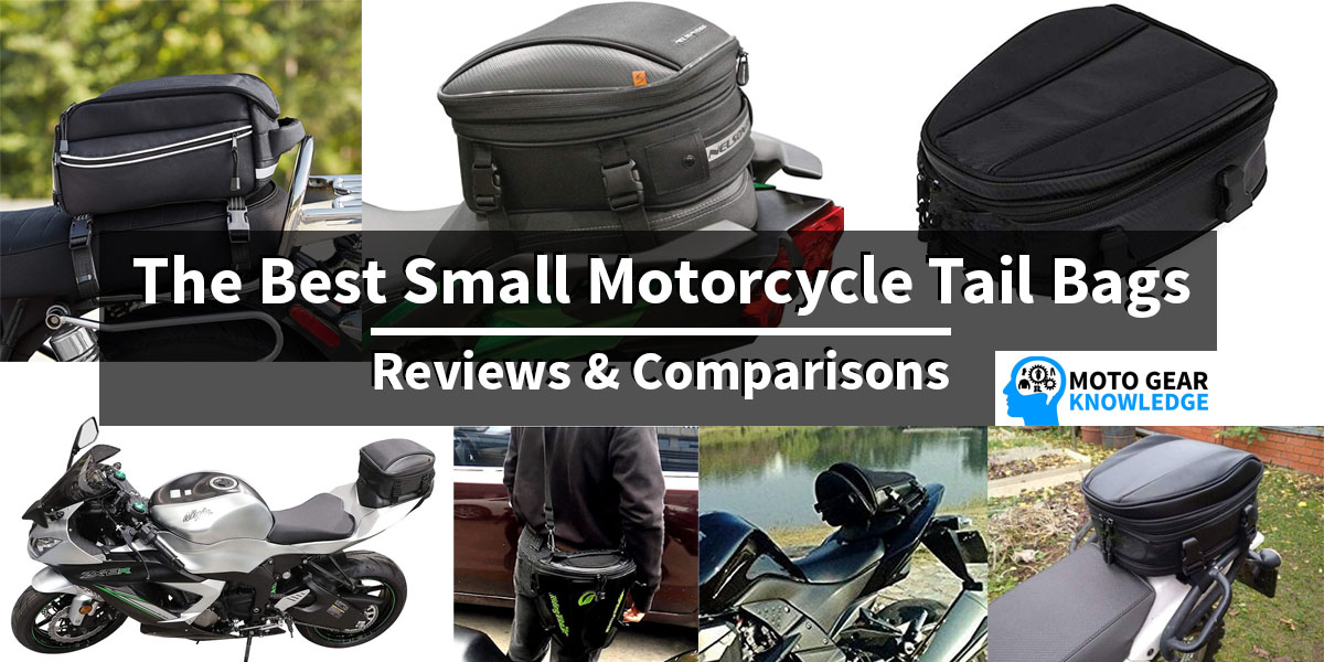 Small Motorcycle Tail Bags