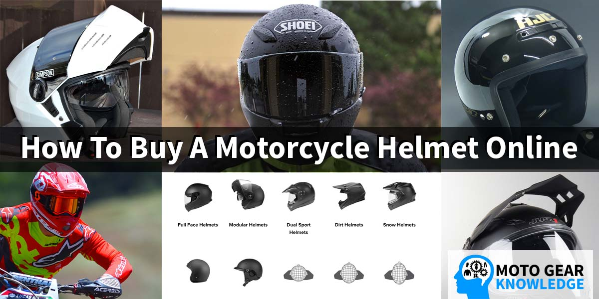 How To Buy A Motorcycle Helmet Online