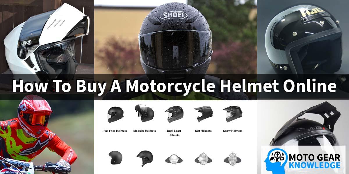 How To Buy A Motorcycle Helmet Online