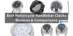 The Best Motorcycle Handlebar Clocks