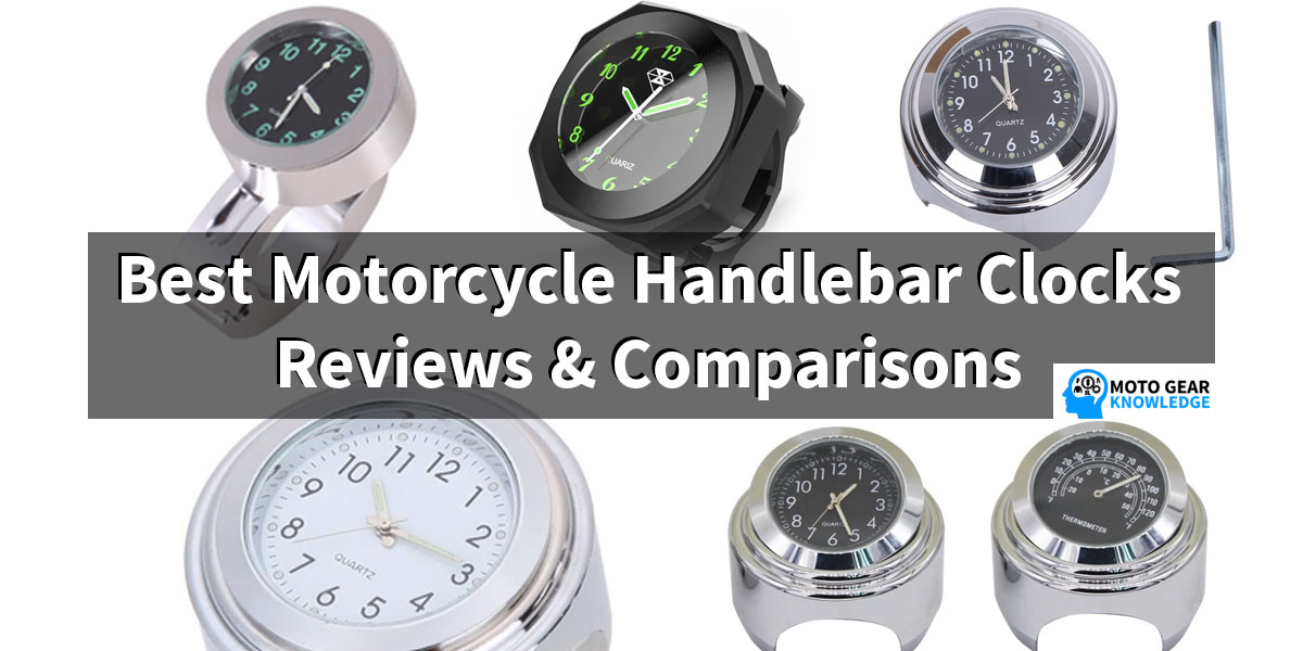 The Best Motorcycle Handlebar Clocks