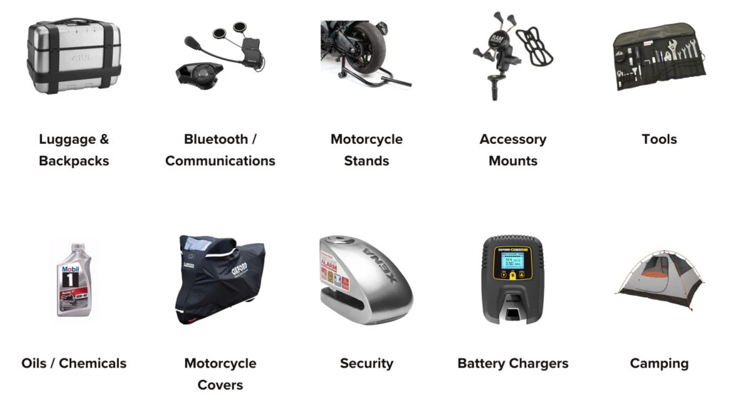 Motorcycle Accessory Choices