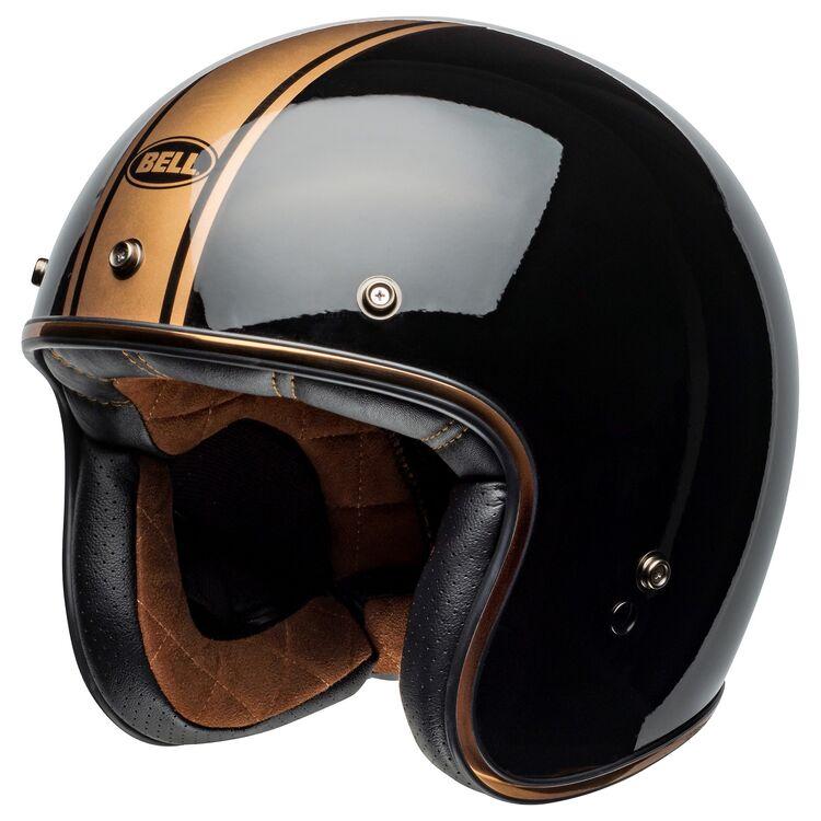 Bell Custom 500 Burnt Orange Rally Motorcycle Helmet