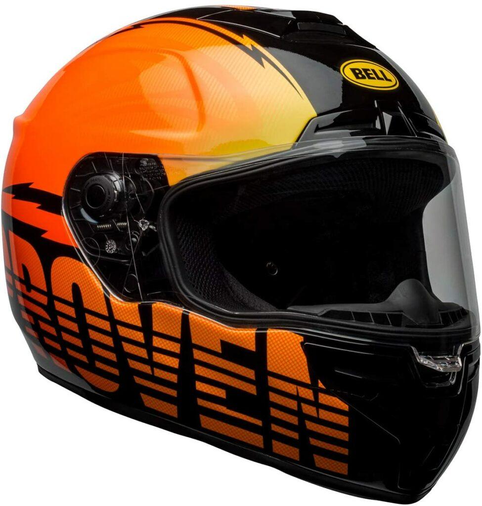 Bell Proverb Burnt Orange Motorcycle Helmet
