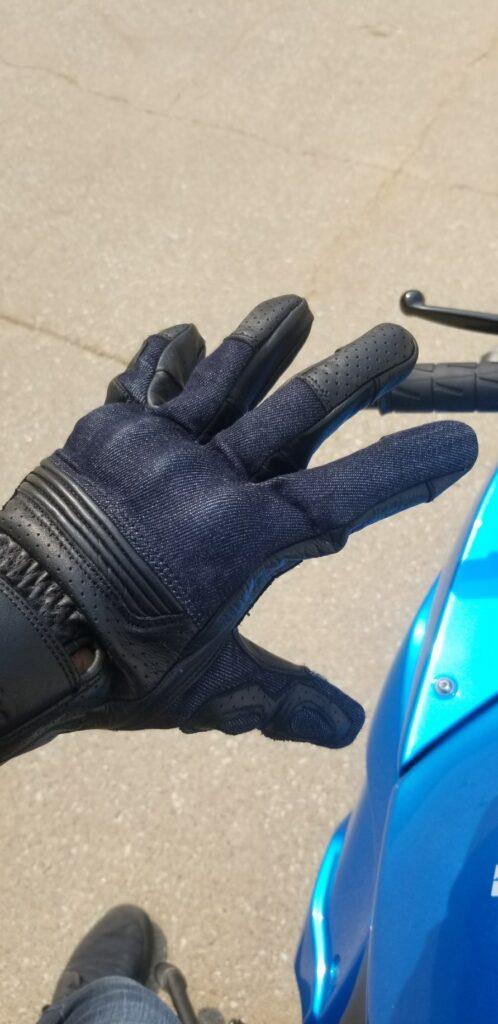 Indie Ridge Motorcycle Gloves -Materials Used