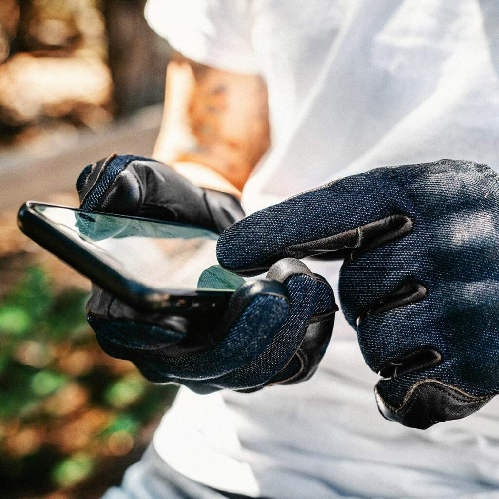 Indie Ridge Motorcycle Gloves - Touchscreen Functionality