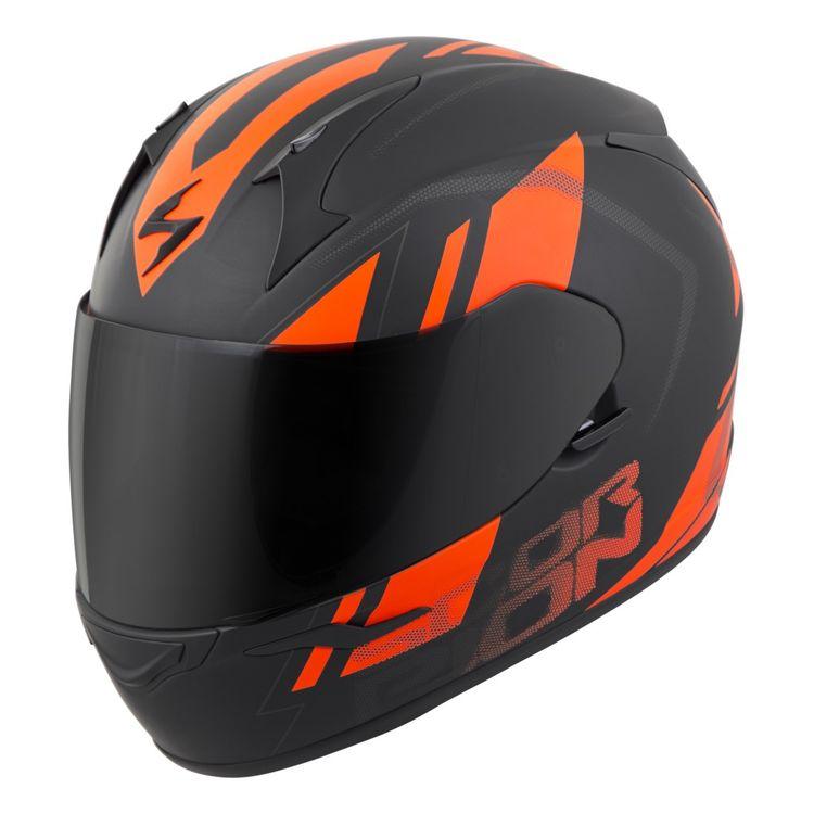 Scorpion Burnt Orange Motorcycle Helmet