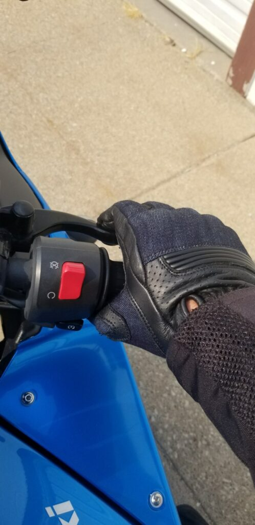 Using Motorcycle Controls With Indie Ridge Gloves